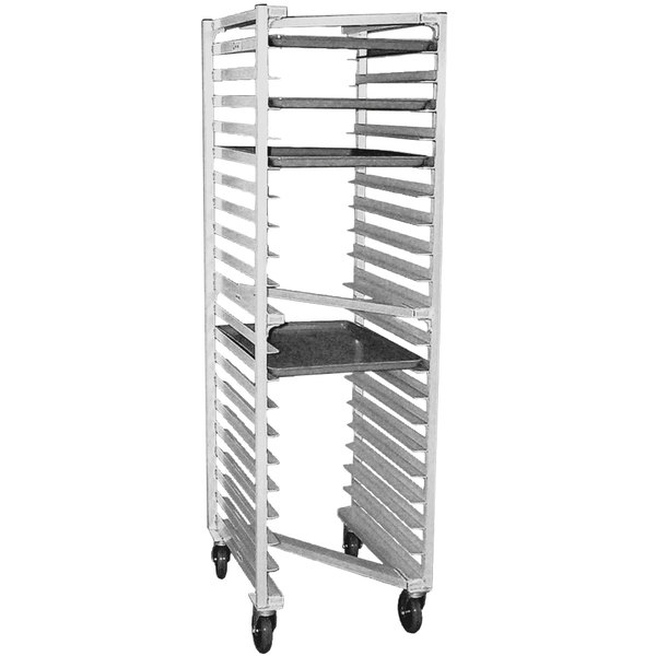 "Eagle Group OUR-182 0-3-N 20 Pan Panco ""Z"" Type Nesting Bun / Sheet Pan Rack - Assembled Main Image 1"