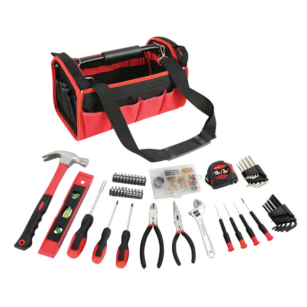 Olympia Tools 83-142 56-Piece Tool Set with 20-Pocket Carrying Case