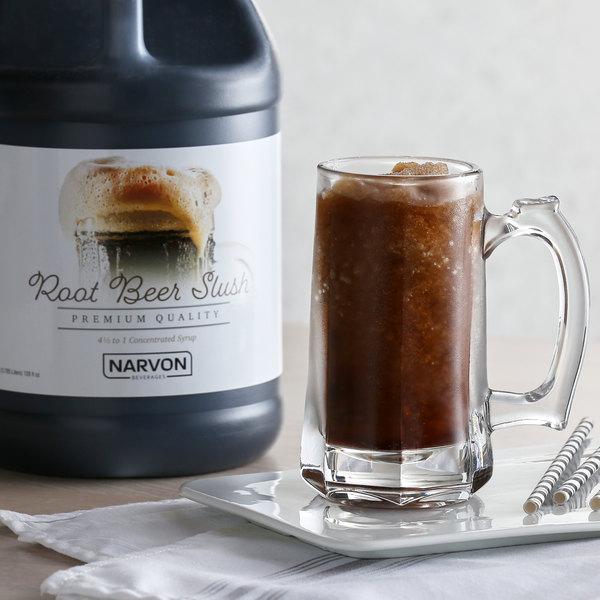 Narvon 1 Gallon Root Beer Slushy Syrup - 4/Case