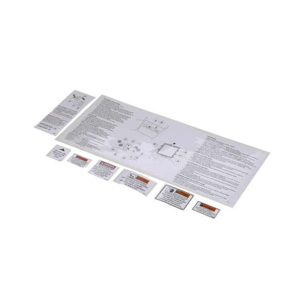 Henny Penny 14707 Kit-600-Label-Quebec-Assort