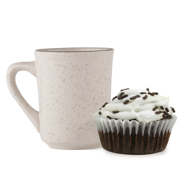 "White Fluted Baking Cup 2"" x 1 3/8"" - 10000/Case"