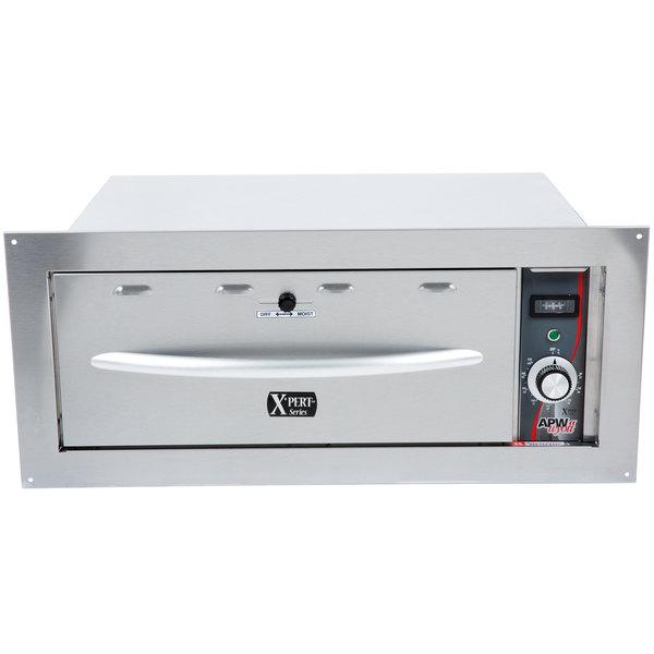 APW Wyott HDDi-2B Built-In 2 Drawer Warmer - 120V