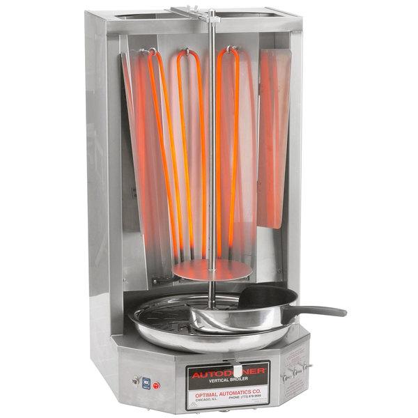 Optimal Automatics 3PE Autodoner 65 lb. Vertical Broiler - Electric, 208V
