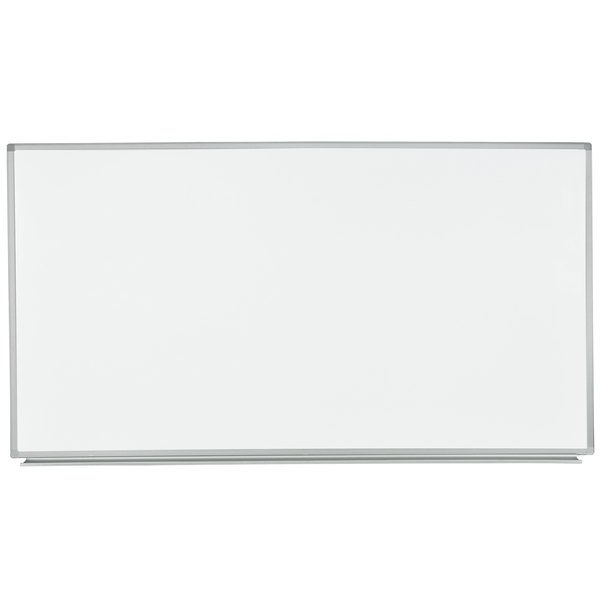 """Luxor WB7240W 72"""" x 40"""" Wall-Mounted Whiteboard with Aluminum Frame"""