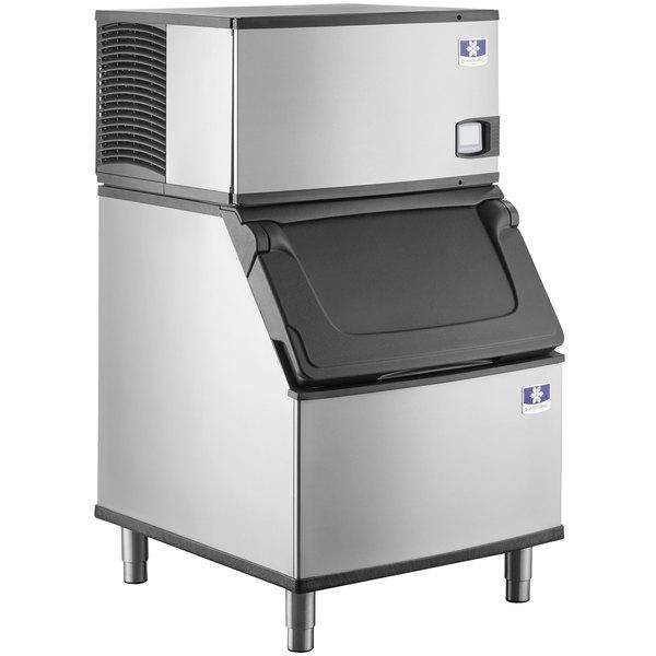 Manitowoc IYF0300A Indigo NXT Series 30 inch Air Cooled Half Dice Ice Machine / Storage Bin - 115V, 1 Phase, 310 lb.