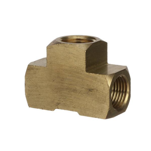 """Edlund F025 Fitting, 1/2""""Npt Brass Tee (#3700"""