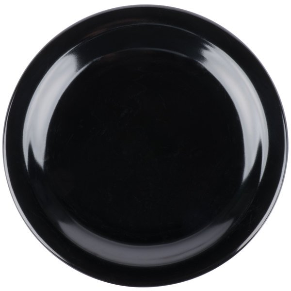 Add flair to your casual dining area with the Carlisle 4350303 Dallas Ware 7 1/4  black melamine plate!  sc 1 st  WebstaurantStore & Carlisle 4350303 Dallas Ware 7 1/4
