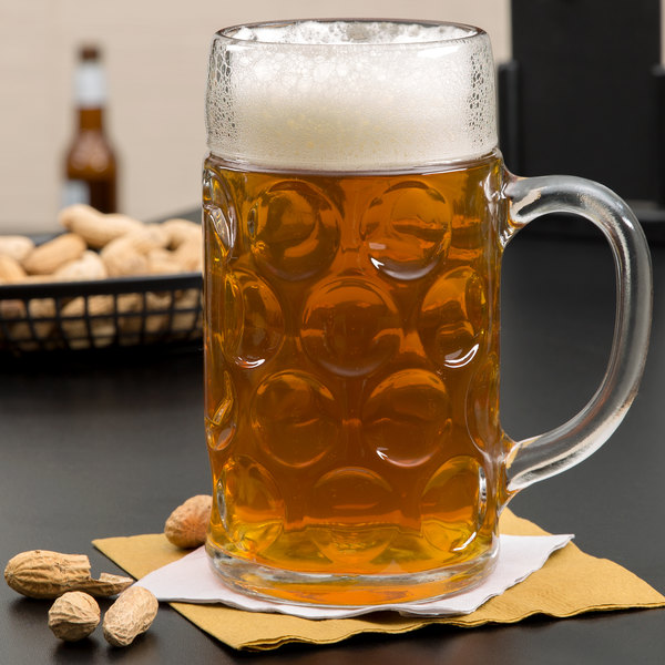 Stolzle 04533 / 808067 35 oz. Oktoberfest Beer Mug - 6/Case
