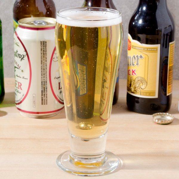 Libbey 3810 10 oz. Footed Ale Glass - 36/Case