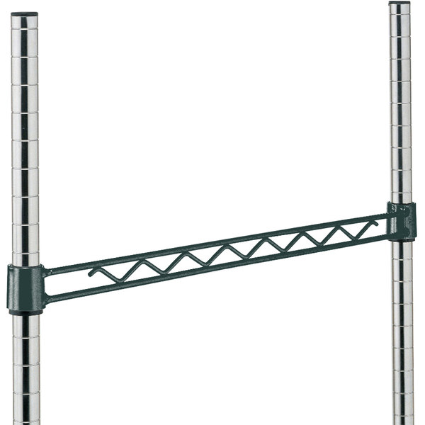 "Metro H118-DSG Smoked Glass Hanger Rail 18"""