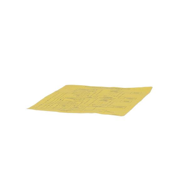 Cleveland 104398 Label;Wiring Schematic Mechani Main Image 1