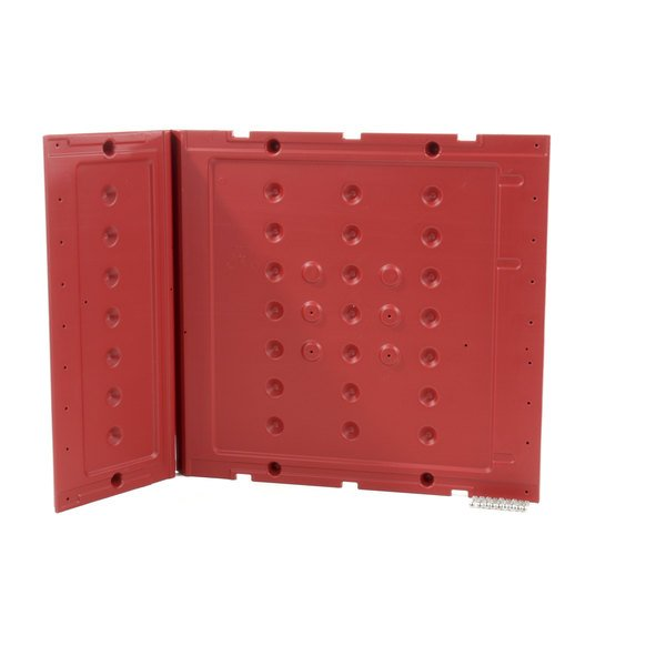 Metro RPC3-SD27-RE Side Panel Red Main Image 1