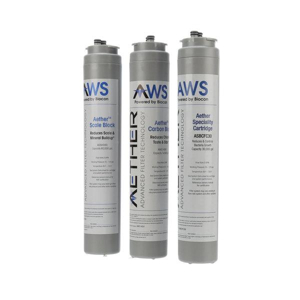 Lancer AWS-095SBBCCB-AC2 Aether Water Filtration, Tripl, N