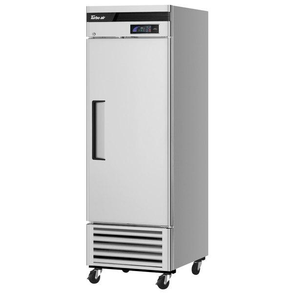 "Turbo Air TSR-23SD Super Deluxe 27"" Solid Door Reach In Refrigerator Main Image 1"