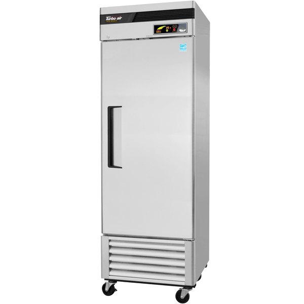 "Turbo Air TSR-23SD Super Deluxe 27"" Solid Door Reach In Refrigerator"
