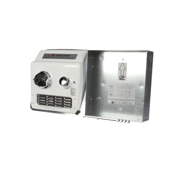 World Dryer RA5-Q974A Complete Hand Dryer Main Image 1