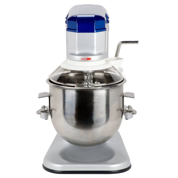 Vollrath 40756 10 Qt. Commercial Planetary Stand Mixer with Guard - 1/3 hp Main Image 1