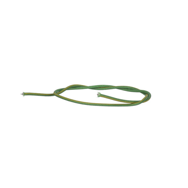 Hatco 02.18.163.00 #18 Green Wire W/ Yellow Tracer, P Main Image 1