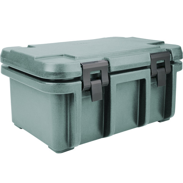 """Cambro UPC180401 Slate Blue Camcarrier Ultra Pan Carrier - Top Load for 12"""" x 20"""" Food Pan"""