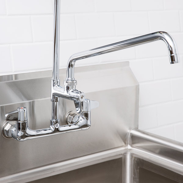 "Equip by T&S 5AFL14 14"" Add On Faucet for Pre-Rinse Units - ADA Compliant"
