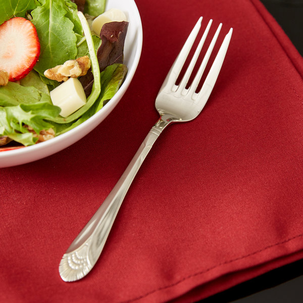 Marquis Flatware Stainless Steel Salad Fork - 12/Case