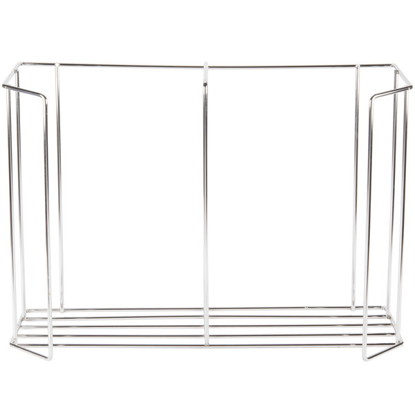 Metro MBQ-C2-17 Covered Plate Carrier / Rack for Two Door Banquet Cabinets Holds 12 Plates
