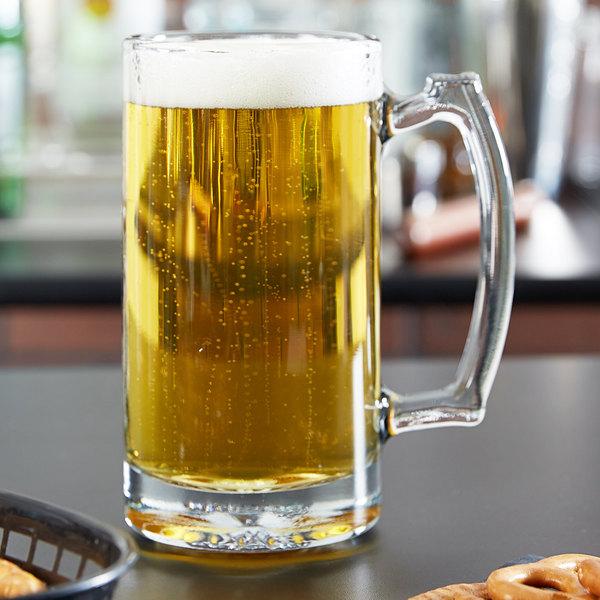 Anchor Hocking 90272 Champion 25 oz. Beer Mug - 12/Case