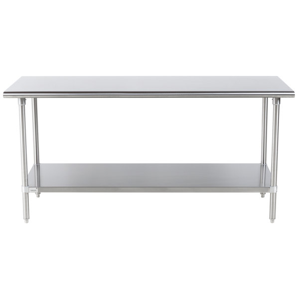 Advance Tabco Premium Series SS X Gauge Stainless - Stainless steel commercial work table 30 x 72