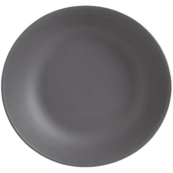 World Tableware DRI-16-GME Driftstone 115 oz. Granite Organic Melamine Coupe Serving Bowl - 6/Case