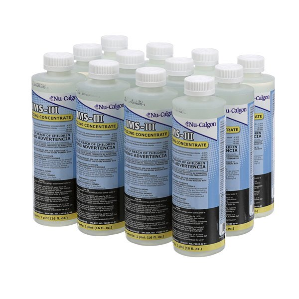 Nu-Calgon 01038652 IMS-III Sanitizing Concentrate - 12/Case Main Image 1