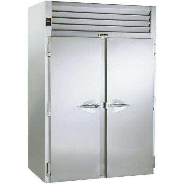 "Traulsen RRI232LUT-FHS 68"" Stainless Steel Solid Door Roll-In Refrigerator"