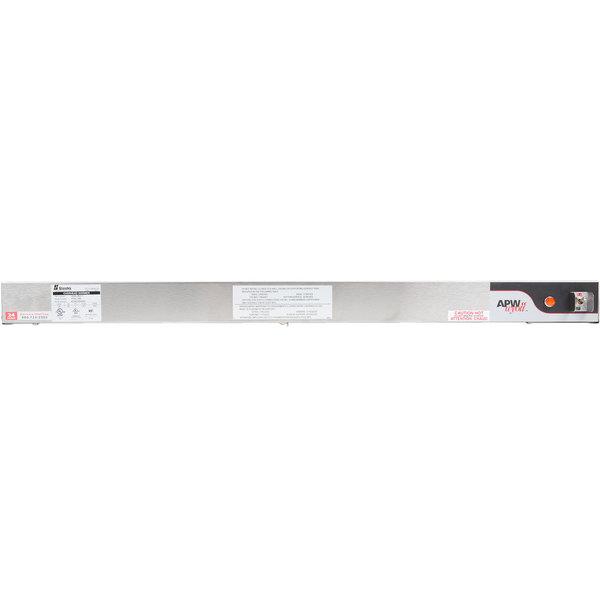 "APW Wyott FDL-54H-T 54"" High Wattage Lighted Calrod Food Warmer with Toggle Controls - 240V, 1585W"