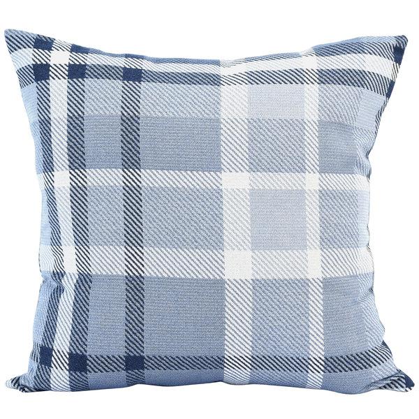 Astella TP24-FA33 Pacifica Tartan Midnight Lounge Throw Pillow Main Image 1