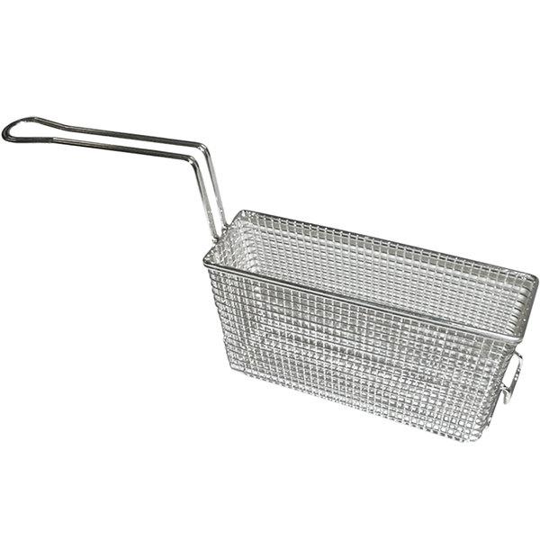 """APW Wyott 3101230 11 1/2"""" x 3 1/2"""" x 6 1/4"""" Half Size Fryer Basket Main Image 1"""
