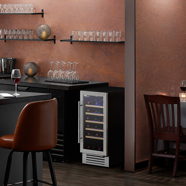AvaValley WRC-32-SZ Single Section Single Temperature Full Glass Door Wine Refrigerator Main Image 5