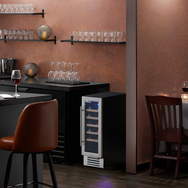 AvaValley WRC-20-SZ Single Section Single Temperature Full Glass Door Wine Refrigerator Main Image 5