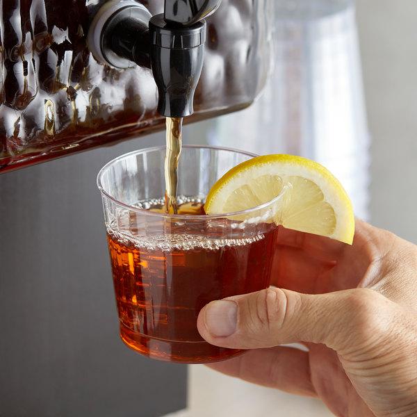 Narvon 1 Gallon Lemon Sweet Iced Tea Beverage Concentrate