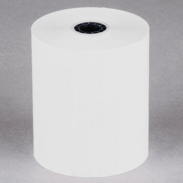 "3"" x 230' Thermal Cash Register POS Paper Roll Tape - 50/Case"