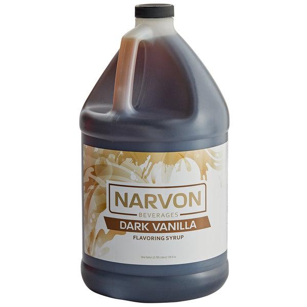 Narvon 1 Gallon Dark Vanilla Syrup
