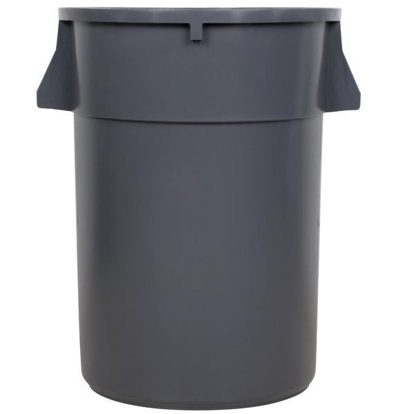 Continental 4444GY 44 Gallon Gray Trash Can