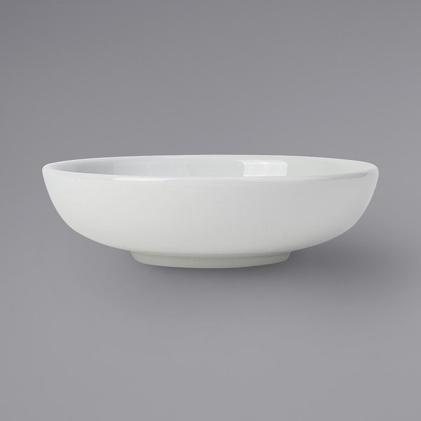 Tuxton BPB-240G 24 oz. Porcelain White Pasta / Salad Bowl - 12/Case Main Image 1