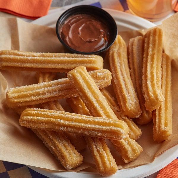 "J & J Snack Foods California Churros 5"" Mini Churro - 200/Case Main Image 2"