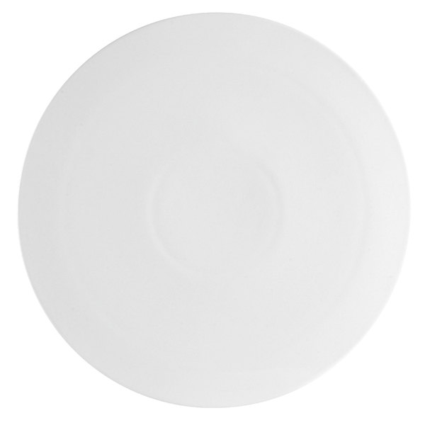 """CAC PP-3 White China Pizza Plate 10 1/2"""" - 12/Case"""