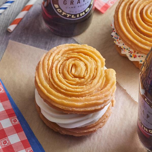 J & J Snack Foods California Churros 3.5 oz. Churro Sandwich Bun - 50/Case Main Image 2