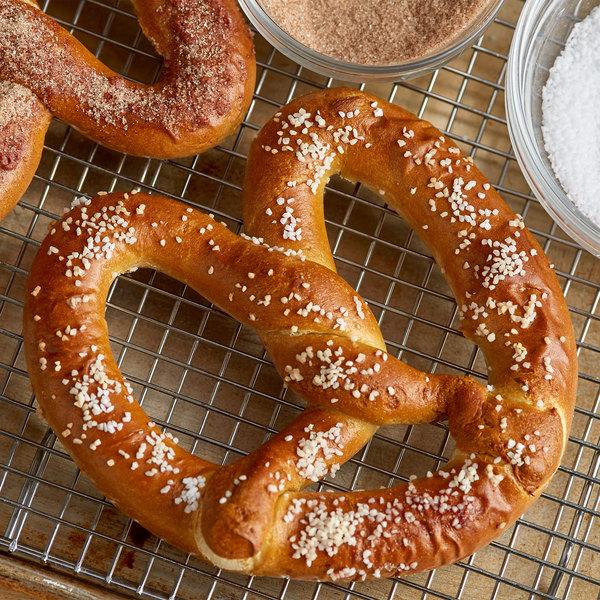 J & J Snack Foods Gourmet Twist 6 oz. Original Twist Topped Soft Pretzel - 24/Case Main Image 2