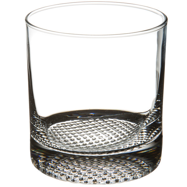 Dimpled Old Fashioned Glass