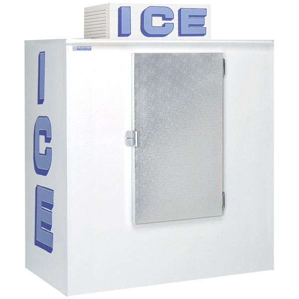 Polar Temp 630CW Cold Wall Outdoor Ice Merchandiser - 65 cu. ft.