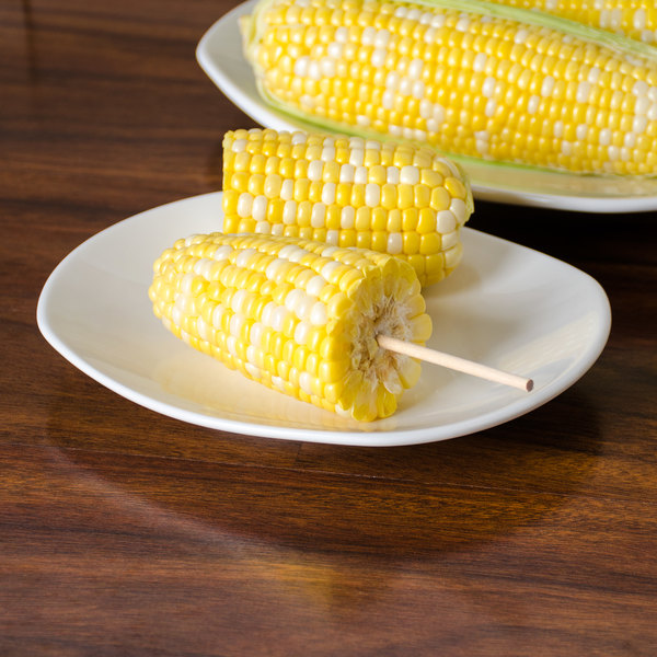 PPING Corn On The Cob Skewers Sweetcorn Holders Long Skewers Barbeque Skewers Flat Skewers For Kebabs Kebab Skewers Kebab Sticks Bbq Kebab Skewers Blue