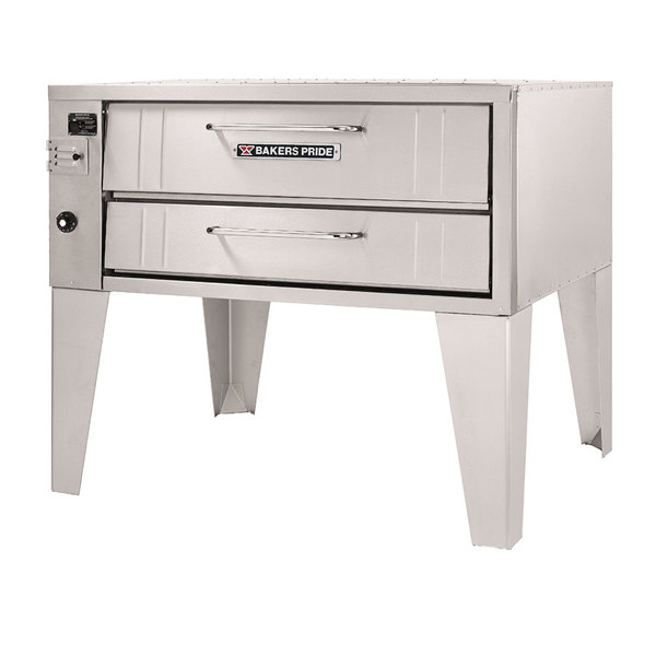 "Bakers Pride 351 Liquid Propane Pizza Deck Oven Single Deck 45"""