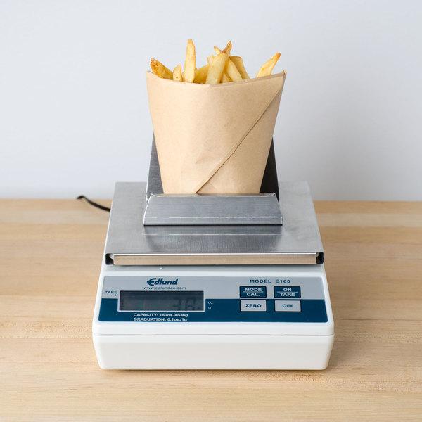 Edlund E-160 FF 10 lb. Digital Portion Scale with French Fry Platform